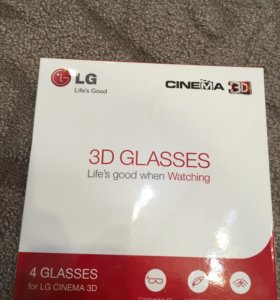 Очки 3D LG новые