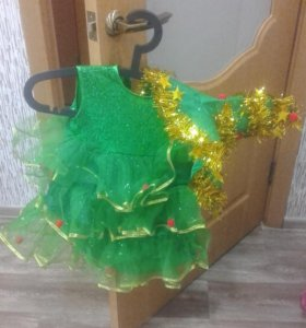 новогодний костюм елочка