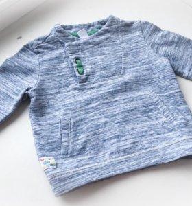 Модная кофта 80-86 размер на мальчика
