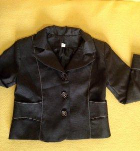 Пиджак укорочённый 34 размер!!!