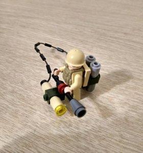 Лего огнемёт