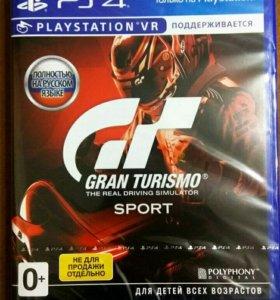 Абсолютно новая игра для PS4 Gran Turismo