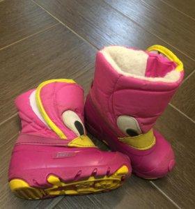 Зимняя обувь Зебра