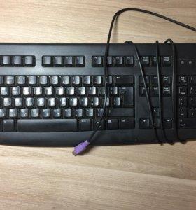 Клавиатура Logitech K120 Keyboard б/у