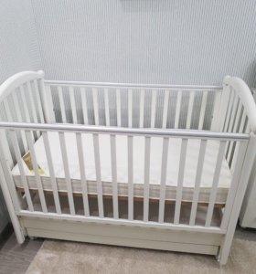 Детская итальянская Кроватка Palio