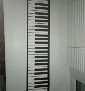 midi-клавиатура пианино синтезатор