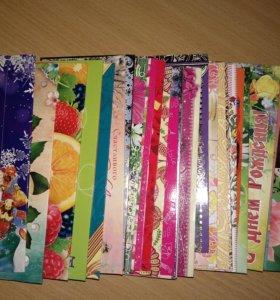 Много новых конвертов