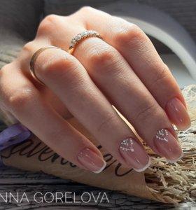 Маникюр ,Покрытие ногтей гель-лаком, наращивание