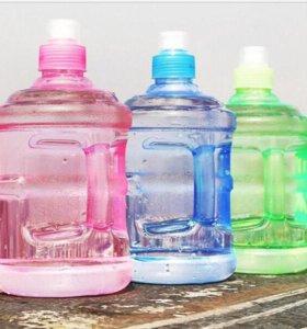 Бутылка для воды (0.5 - 1 литр)