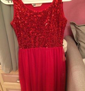 Платье нарядное,рост 164