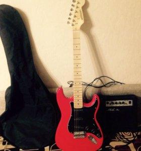 Электрон гитара с комбиком