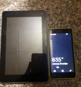 Планшет+смартфон
