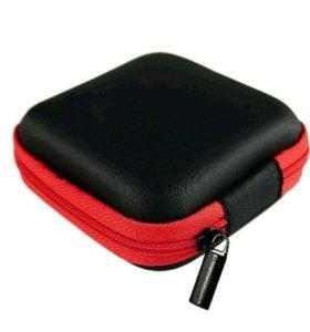 Кейс для наушников,  маленьких подарков.  8×8см