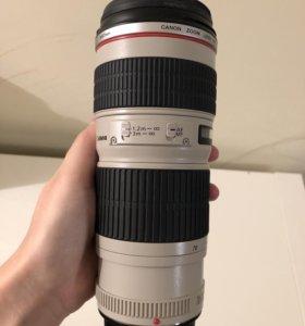 Объектив Canon Zoom lens EF70-200m