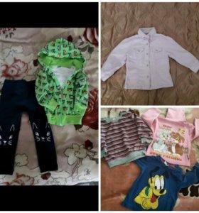 Вещи на девочку на 1-2 года