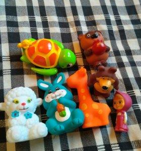 Игрушки для ванны+подарок