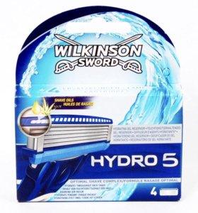 Новые сменные кассеты для Schick Hydro 5