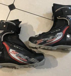 Лыжные коньковые ботинки для юниоров Spine Skate