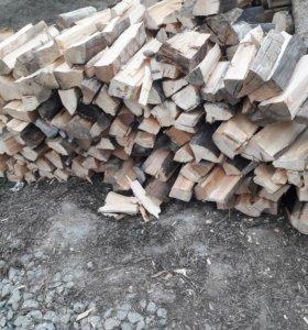 Продам дрова с доставкои сосна сухая 100% 3 куба