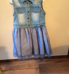 Новый джинсовый сарафан