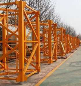 Секции башенного крана марки ZOOMLION,Hongda - QTZ