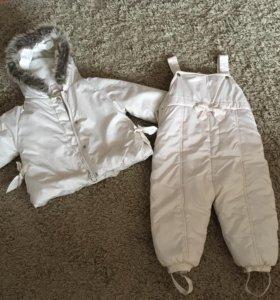 Куртка и комбинезон 1 год