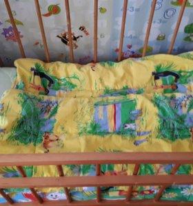 Детская кровать, матрац