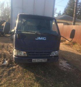 JMC грузовой фургон 2007г категория В