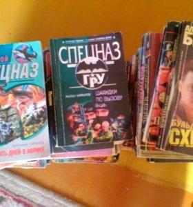 Книги детективы 50шт