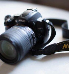 Nikon D5000 body + Nikkor 18-105mm f 3.5-5.6 VR