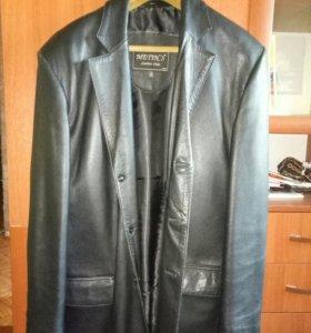 Пиджак кожаный Турция