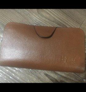 Мужской клатч-кошелёк