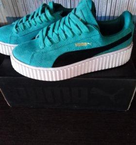 Новые фирменные кроссовки Puma Suede Creeper.