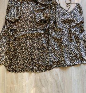 Леопардовый комплект