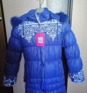 Новое зимнее пальто (куртка) на девочку