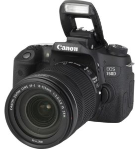 Canon 760d Kit 18-55 is stm.+2 батареи