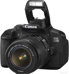 Зеркальный фотоаппарат Canon EOS 650D kit 18-55