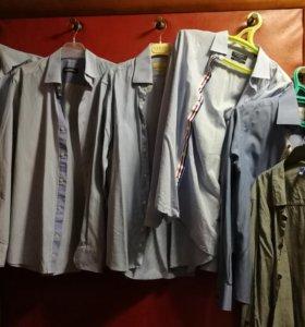 Пакетом Рубашки М с длинным рукавом Zara и др
