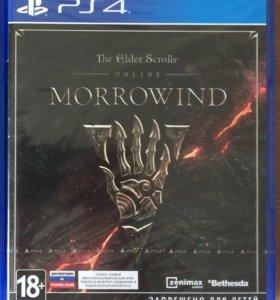 The elder scrolls online Morrowind запакованный Ps