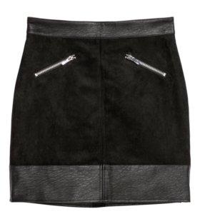 Новая короткая юбка H&M