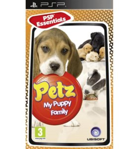 Psp Игра Диск Petz: My Puppy Family.
