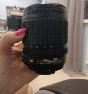 Объектив Nikon 18-105mm f/3.5-5.6G AF-S ED DX VR N