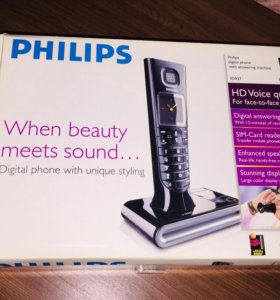 Радио телефон Philips ID937