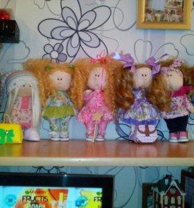 Продаются интерьерные куклы ручной работы.