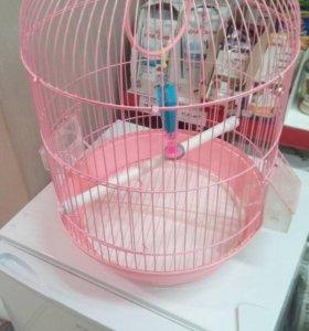 Продается б/у клетка птиц