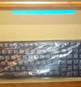 Глроо XI800 беспроводная клавиатура +беспроводмышь
