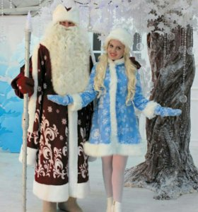 Дед Мороз и Снегурочка к вам на праздник. Анапа