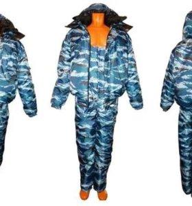 Зимний костюм беркут, камуфляж омон, 44-46, 60-62