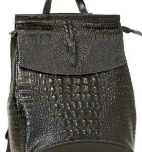 Кожаный рюкзак-трансформер FARFALLA ROSSO