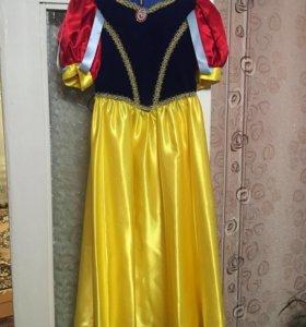 Новогодний костюм Белоснежка